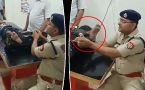 Shamli SP gives foot massage to kanwariya, video viral