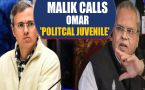J&k Governor And Omar Abdullah Clash Over 'kill Corrupt Netas' Remark