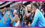 World Cup 2019: Virat Kohli, Rohit Sharma's seek blessings from 87 year old Fan