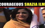 Shazia Ilmi Confronts Pakistani protesters in Seoul says, 'Don't Abuse Our PM'