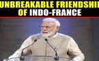 PM Modi speaks about Indo-France relations