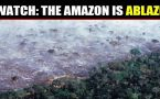 The Amazon rain forest has been burning for weeks