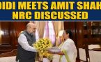 After PM Modi, Mamata Banerjee meets Home Minister Amit Shah