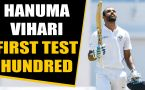 Hanuma Vihari hits first test century, Gives credit to Ishant