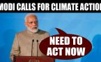 PM Modi speaks at UN climate summit, says time to ACT now
