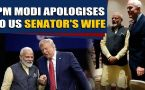 PM Modi apologises to US Senator's wife, video goes viral