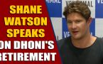 Shane Watson says Dhoni still has the skills