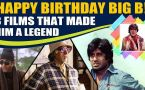 A look back at 8 career defining films of legend Amitabh Bachchan