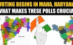Haryana, Maharashtra vote for new govt, litmus test for PM Modi