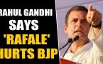 Rahul Gandhi says Rafale is still hurting BJP