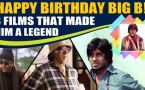 A lookabck at 8 career defining films of legend Amitabh Bachchan