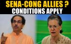 For an alliance with the Congress, Shiv Sena to shed 'Hindutva' agenda?