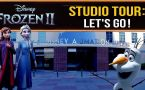Frozen 2: Come take a look inside Disney's Los Angeles studio!