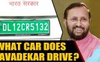 Prakash Javadekar drives an electric car, sets a trend