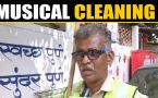 Pune's sanitation worker's unusual way to spread awareness on cleanliness