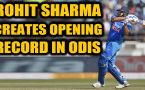 ROHIT SHARMA COMPLETES 7000 ODI RUNS AS AN OPENER, SURPASSES SACHIN TENDULKAR