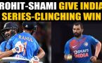 India vs New Zealand, 3rd T20I: Rohit, Shami guide India to a famous win in Super Over thriller..