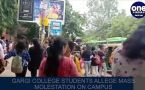 Gargi students allege mass molestation on campus, police launch probe