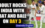 India vs New Zealand, 1st Test: Trent Boult rocks India's batting on Day 3