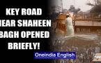 Shaheen Bagh: UP Police reopens Noida-Delhi road shut due to anti-CAA protests briefly