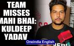 KULDEEP YADAV REVEALS TEAM INDIA MISSES MS DHONI