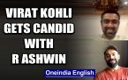 VIRAT KOHLI DISCUSSES HIS CAPTAINCY STINT WITH R ASHWIN DURING LIVE CHAT