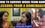 Lessons on how to survive work from home from someone who is a pro!: Watch video