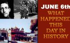 June 6th: Here is a look at some major events that took place on this day in history