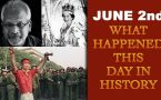 June 2nd: Let's take a peek into history and find out what happened on this day