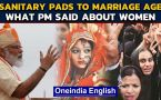 PM Modi Independence Day speech | Sanitary pads & New minimum marriage age