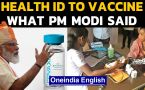 PM Modi Independence Day speech | Health IDs for all | Vaccine update
