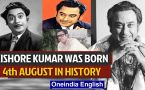 Bollywood actor and singer Kishore Kumar was born and other events in history