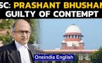 Prashant Bhushan held guilty of contempt by SC for tweets against CJI and judiciary