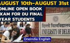 Delhi HC gives nod to online open book examination for Delhi University final year students
