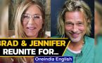 Brad Pitt & Jennifer Aniston reunite for a good cause