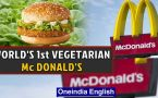 The 1st ever vegetarian Mc Donald's | September 4th in history