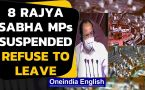 Rajya Sabha: 8 MPs suspended over unruly behaviour during passage of farm bills, refuse to leave