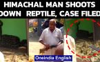 Himachal Pradesh: Man shoots down reptile, case filed against him