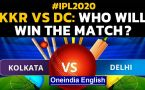 IPL 2020: KKR VS DC: Eoin Morgan & Co. look to keep play-offs hope alive