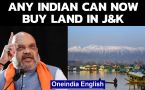Centre notifies new laws allowing any Indian citizen to buy land in J&K, Ladakh