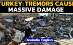 Turkey suffers massive earthquake, tremors in Greece too