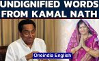 Kamal Nath calls BJP's Imarti Devi 'item', she responds