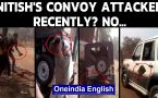 Nitish Kumar's convoy attack video is not recent but from...