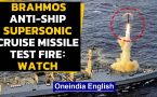 BrahMos Anti-Ship Supersonic Cruise Missile test fired: Watch