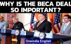 BECA pact: Why is this India-US deal important?