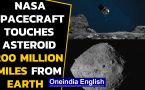 NASA spacecraft collects sample from an asteroid 200 million miles from Earth