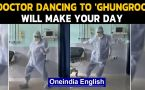 Doctor dances to Ghungroo in PPE to cheer up patients
