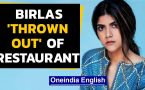 Birlas face racism, 'thrown out' of California restaurant