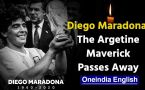Argentina football legend Diego Maradona dies at 60