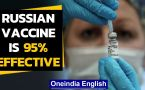 Russia's Sputnik V vaccine is 95% effective | Latest update